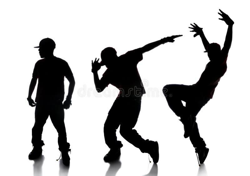 Sequenza del danzatore di Hip Hop illustrazione di stock