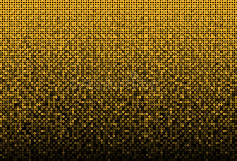 Sequins золота знамени, яркий блеск, искра, задняя иллюстрация штока