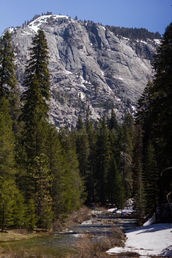 Sequoia εθνικό πάρκο - ποταμός Kaweah στοκ εικόνες