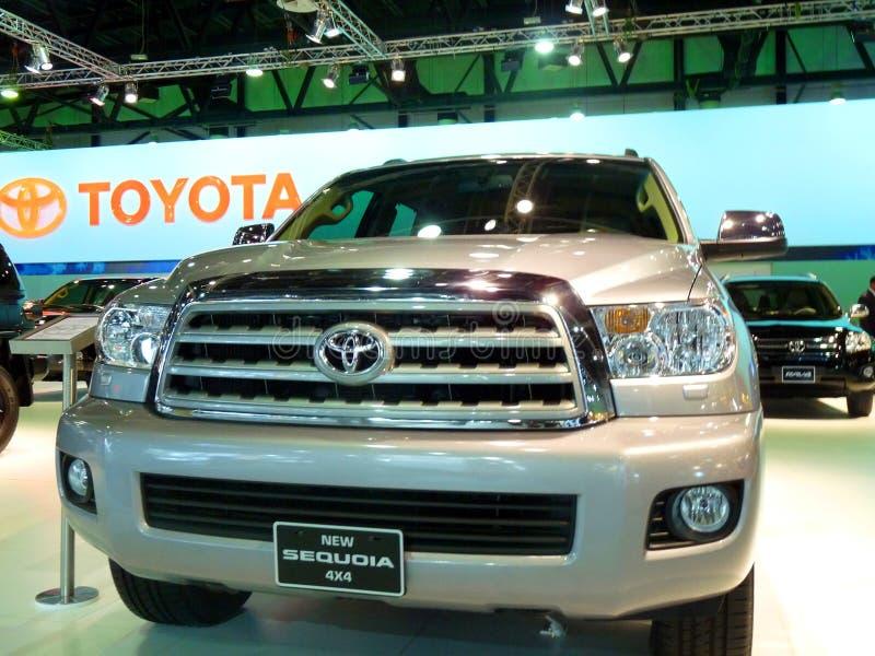 Sequoia de Toyota fotografia de stock royalty free