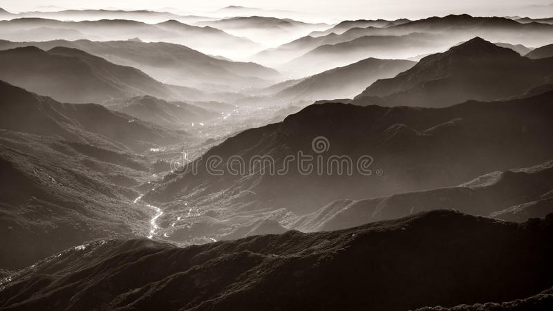 Sequoia National Park royalty free stock photography