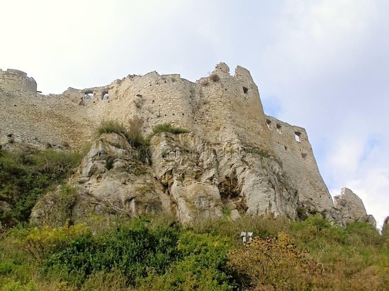 Ser de Spissky Castelo-Eslováquia 2 foto de stock