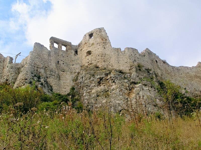 Ser de Spissky Castelo-Eslováquia 3 fotos de stock royalty free