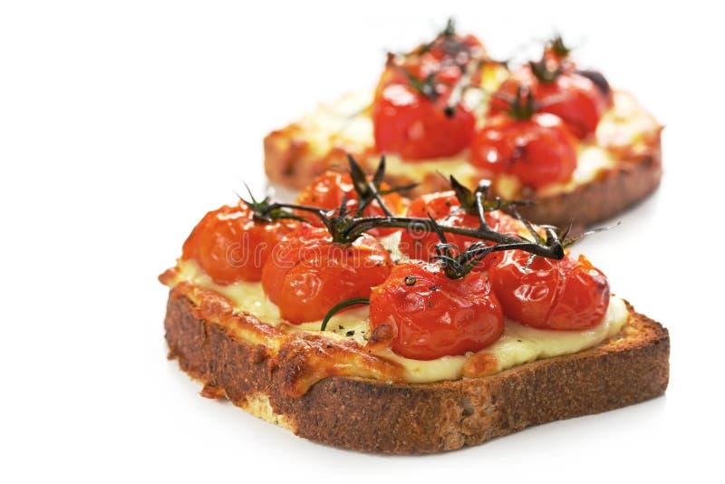 ser grillowany pomidora obrazy stock