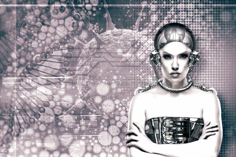 Ser humano modificado imagenes de archivo