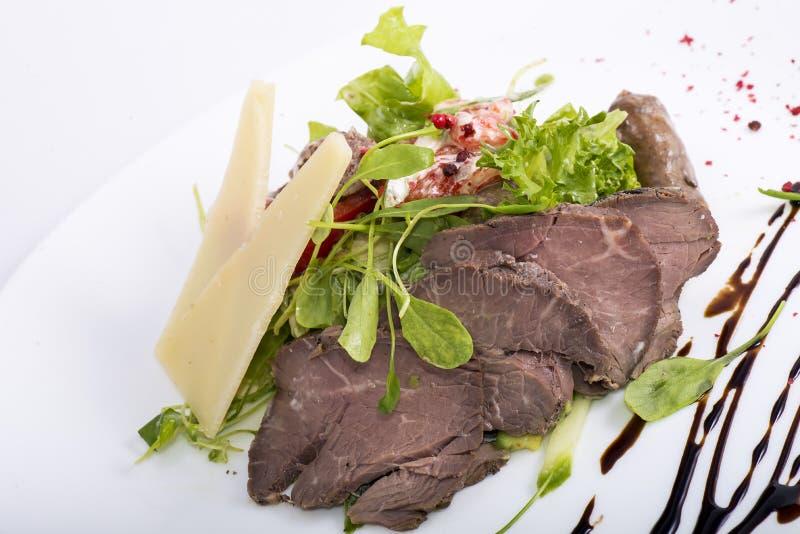 Ser i mięso obrazy stock