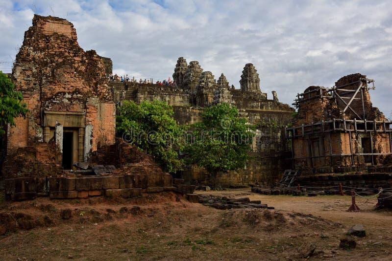 Sera del tempio fotografie stock libere da diritti
