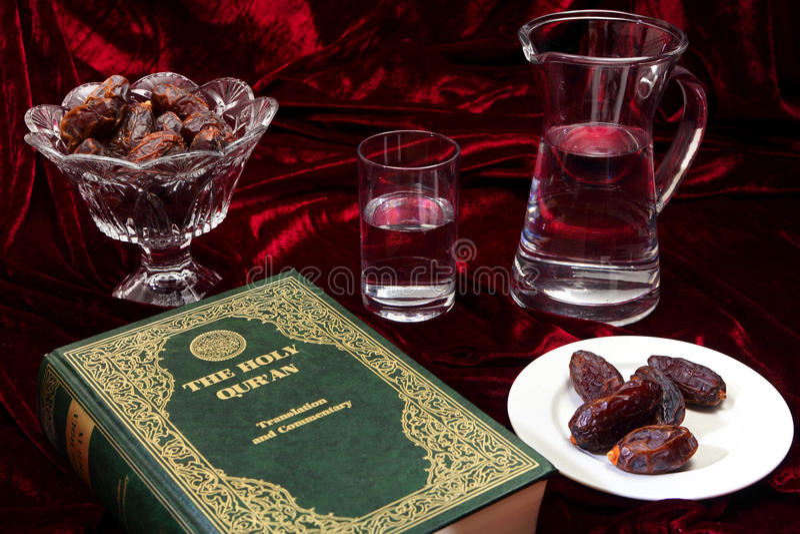 Sera di Ramadan immagine stock