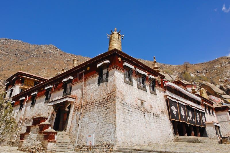 Sera Monastery. Is one of the great three Gelukpa university monastery in Tibet royalty free stock image