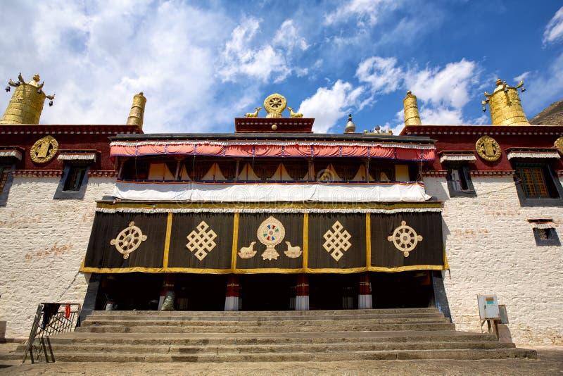 Sera Monastery. In Lhasa, Tibet stock image