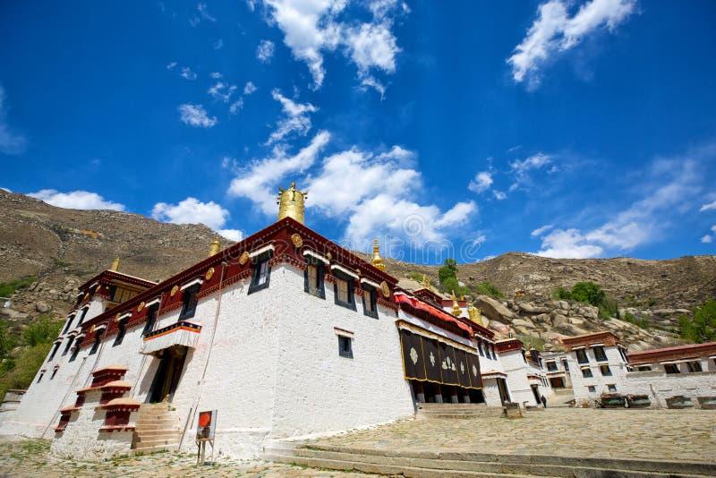 Sera Monastery. (main assembly hall) in Lhasa, Tibet royalty free stock photos