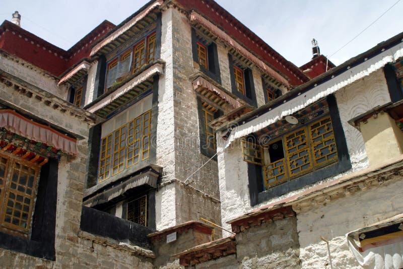 Sera Monastery in Tibet. China stock photography