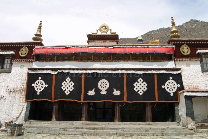 Sera Monastery in Tibet. China royalty free stock photo