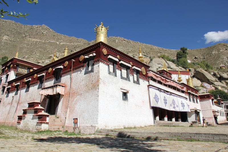 Sera Monastery, Tibet. Sera Monastery is one of the great three Gelug university monasteries of Tibet, located 1.25 miles (2.01 km) north of Lhasa and about 5 stock images