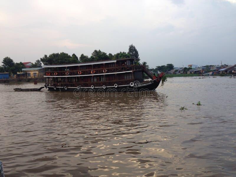 Sera nel Vietnam fotografia stock