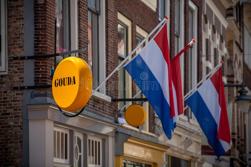 Sera sklep w Gouda obrazy royalty free