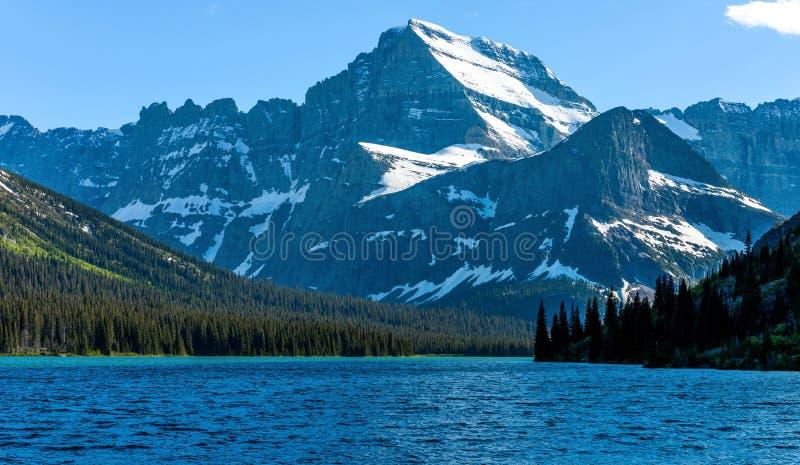 Sera sul monte Gould fotografia stock libera da diritti