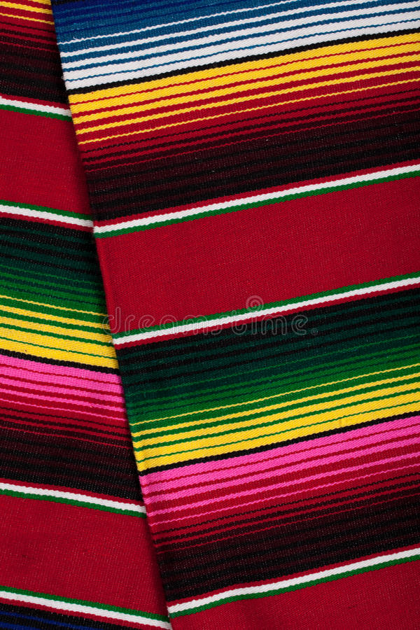 Serape mexicano como fondo fotos de archivo libres de regalías