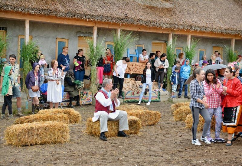 ` Serbare Campeneasca `在Visina,图尔恰,罗马尼亚 免版税库存图片