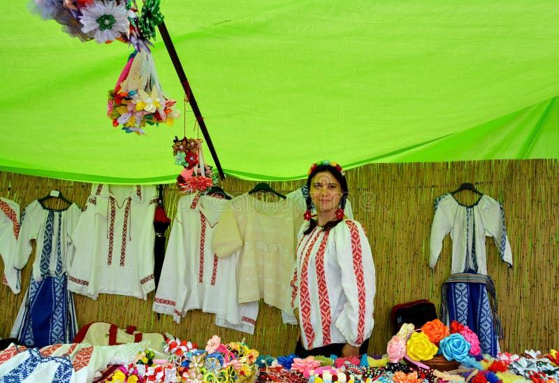 `Serbare Campeneasca ` in Visina, Tulcea, Romania. VISINA, TULCEA, ROMANIA - JUNE 17,2017. `Serbare Campeneasca `,event hosted by Souvenir from Dobrogea stock photos