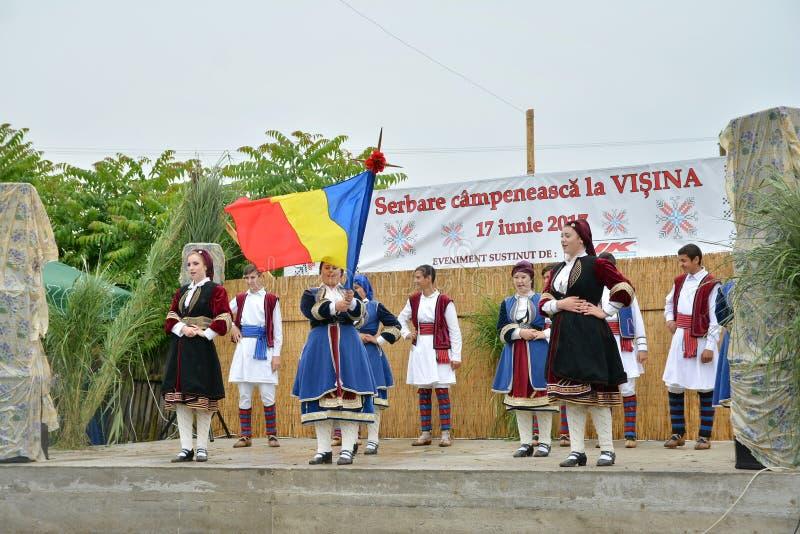 ` Serbare Campeneasca ` w Visina, Tulcea, Rumunia obraz stock