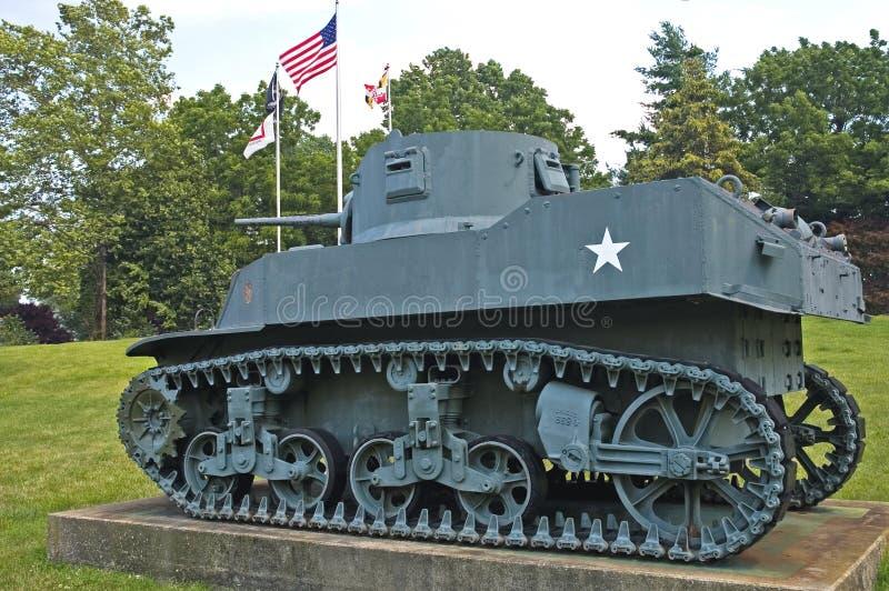 Serbatoio dell'esercito americano - Annata WWII   fotografie stock libere da diritti