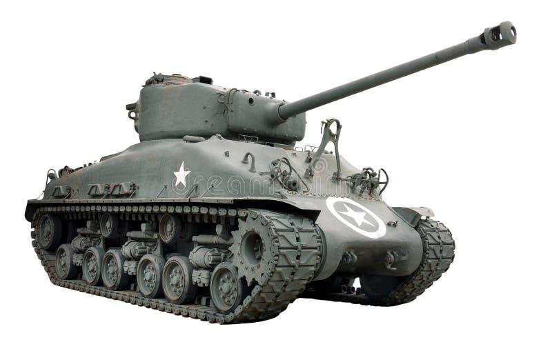 Serbatoio dello Sherman immagini stock