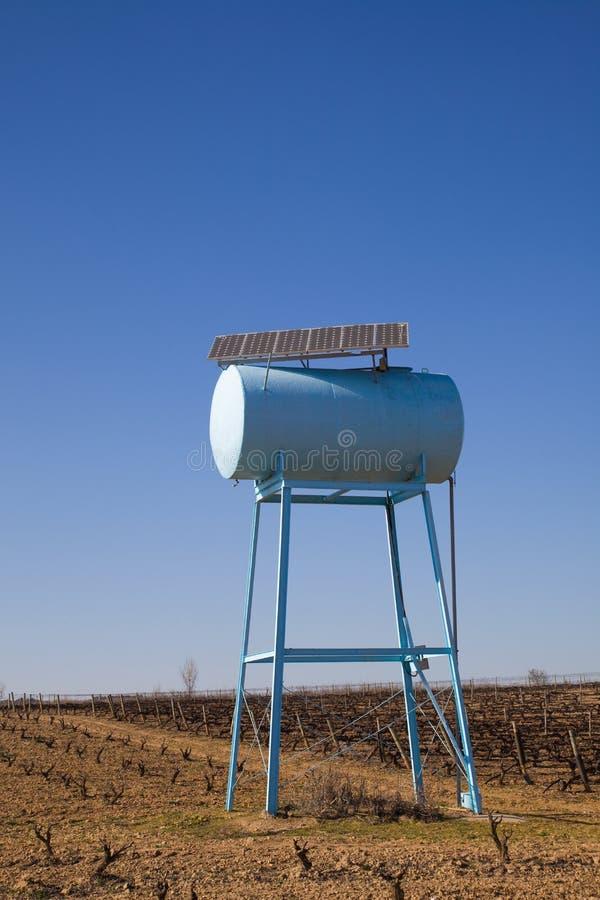 Serbatoio di acqua ecologico fotografie stock libere da diritti
