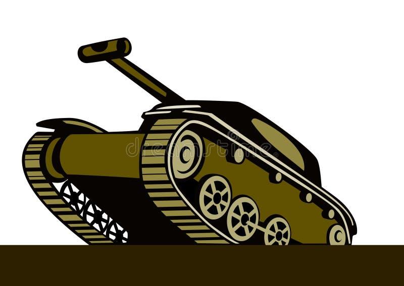Download Serbatoio di battaglia illustrazione vettoriale. Illustrazione di tank - 3147402