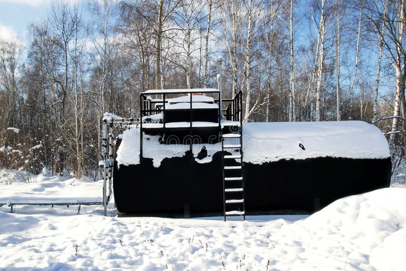 Serbatoio di combustibile XXXL fotografia stock