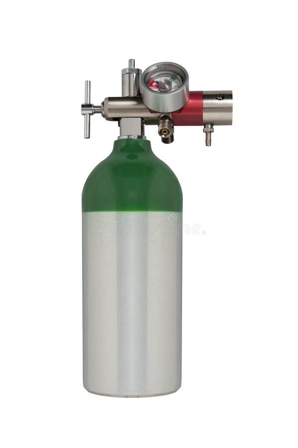 Serbatoio di ossigeno medico immagine stock