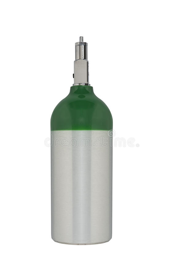 Serbatoio di ossigeno medico fotografie stock