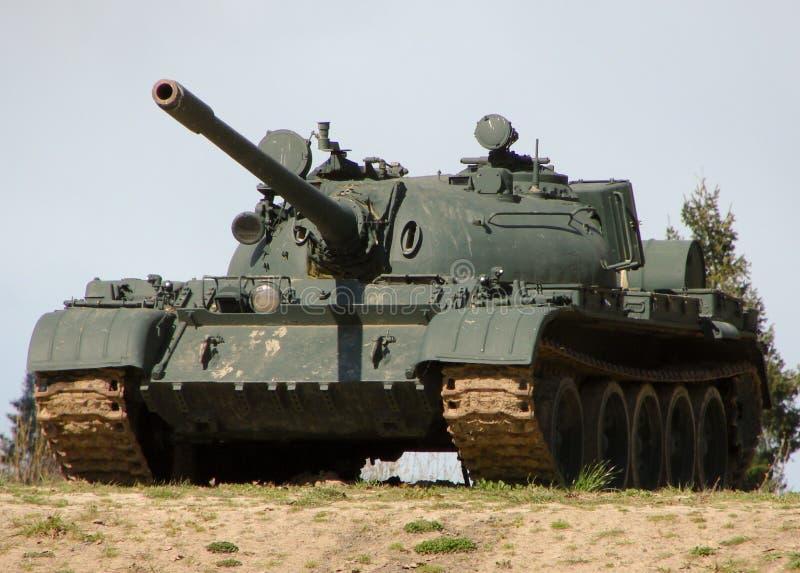 Serbatoio militare immagine stock libera da diritti