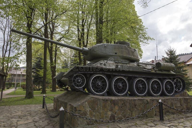 Serbatoio t-34 fotografie stock