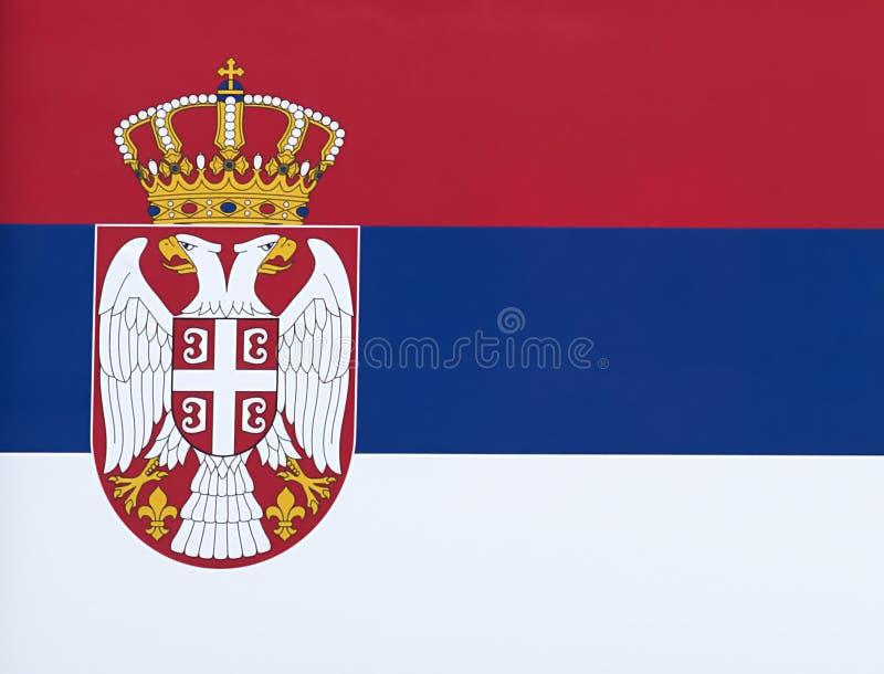 Serben sjunker royaltyfria foton