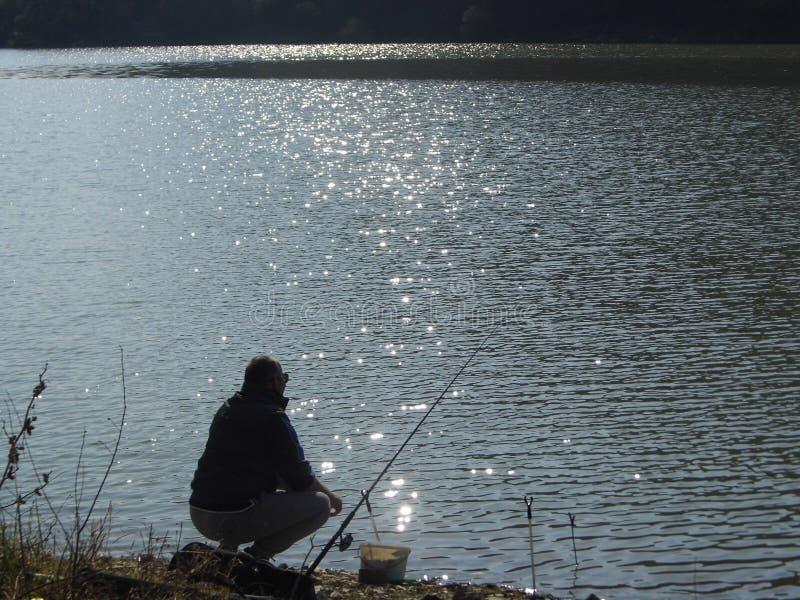 Serbia湖 库存照片