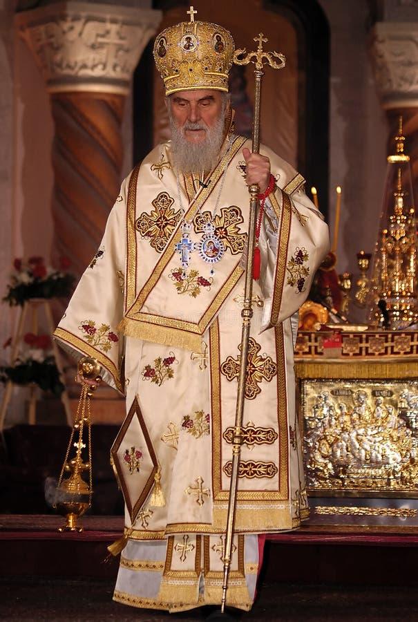 serbian патриарха 3 irinej стоковое фото rf