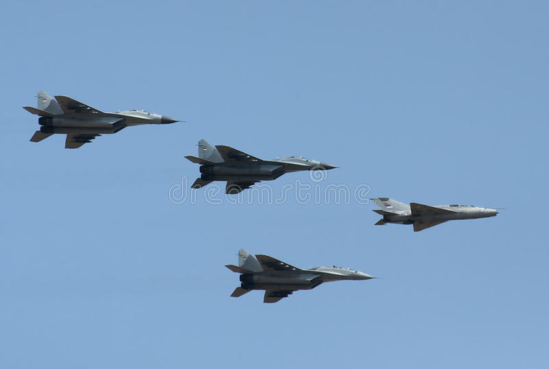 Download Serbian Airforces Editorial Stock Image - Image: 26647619