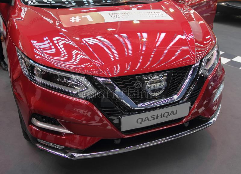 Serbien; Belgrad; Am 24. März 2018; Nissan Qashqai-Front; das 54. stockbild