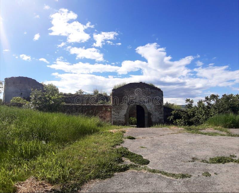 Serbien Kladovo Fortress fotografering för bildbyråer
