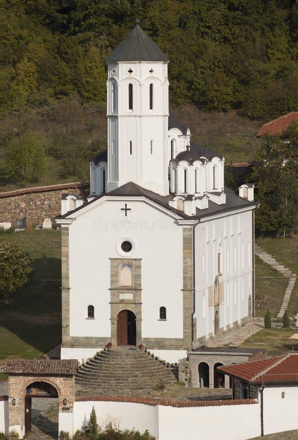 Serbische orthodoxe Kirche lizenzfreies stockbild