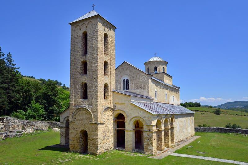 Serbisches orthodoxes Kloster Sopocani stockfotos