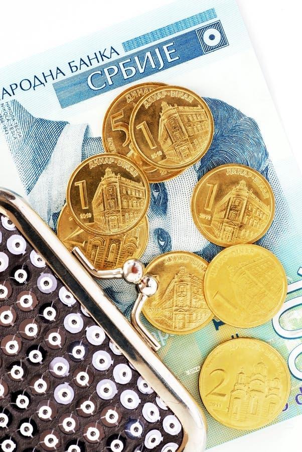 serbiska dinars arkivfoto