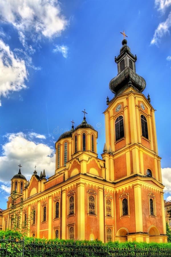 Serbska Ortodoksalna katedra w Sarajevo zdjęcia royalty free