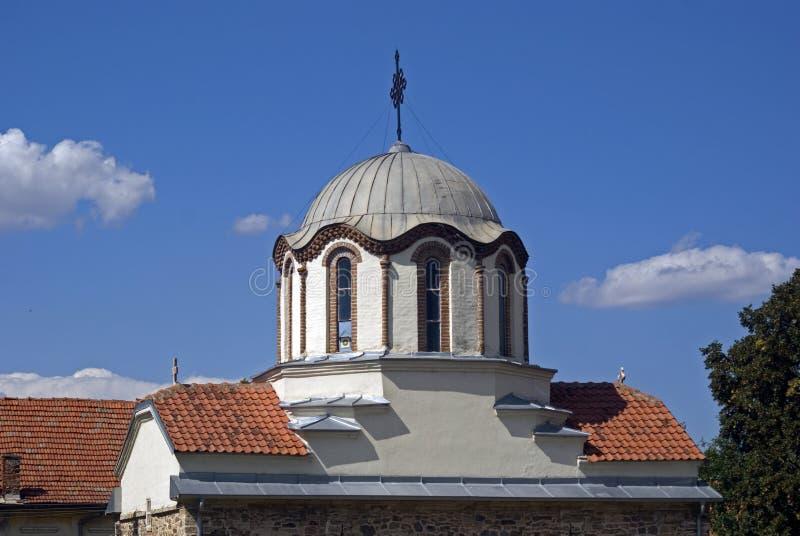 Serbski ortodoksyjny kościół, Gusterica, Kosowo obrazy royalty free