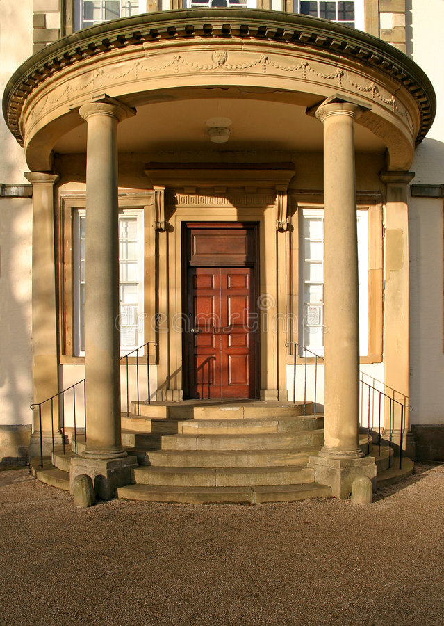 Serby Hall Entrance Stock Photo