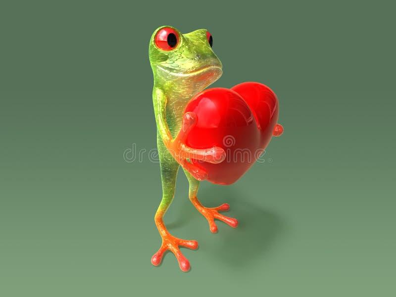 serca żaby