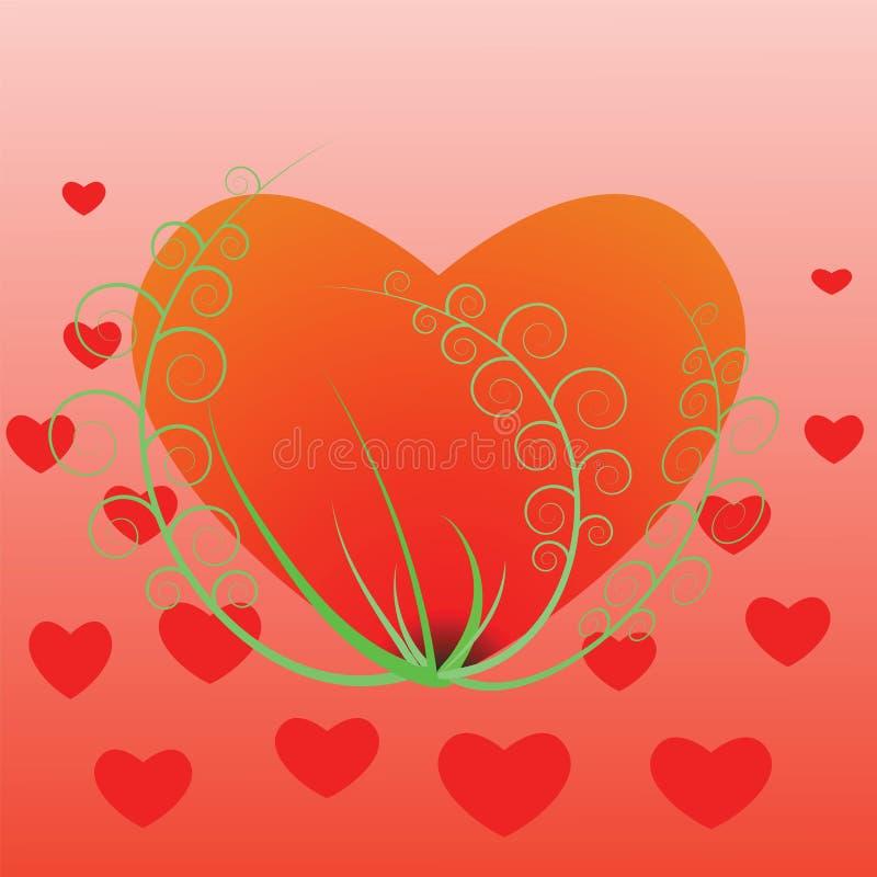 Download Serca ilustracja wektor. Ilustracja złożonej z miłość - 28961734