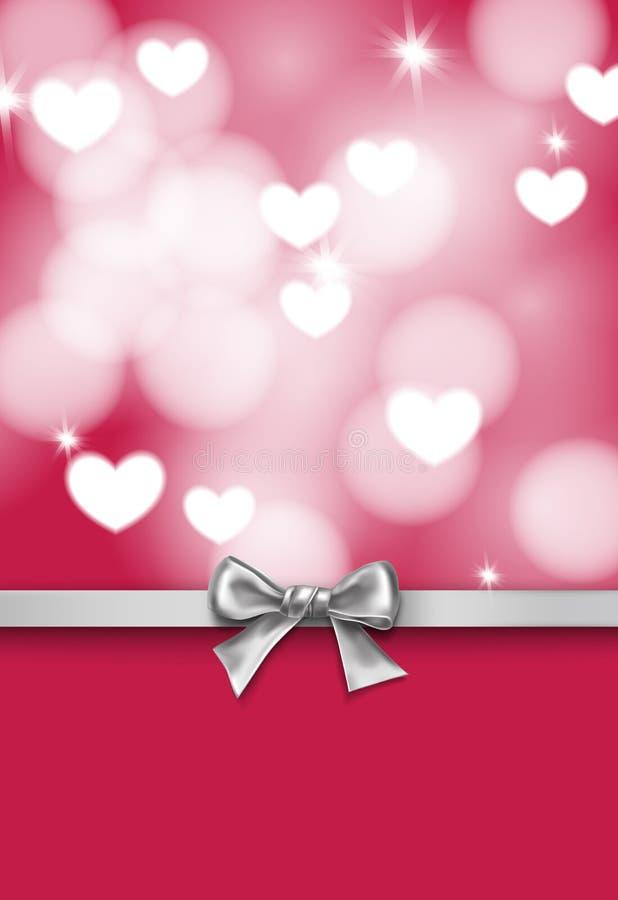 Serca 8 karciana dzień eps kartoteka zawierać valentine ilustracja wektor