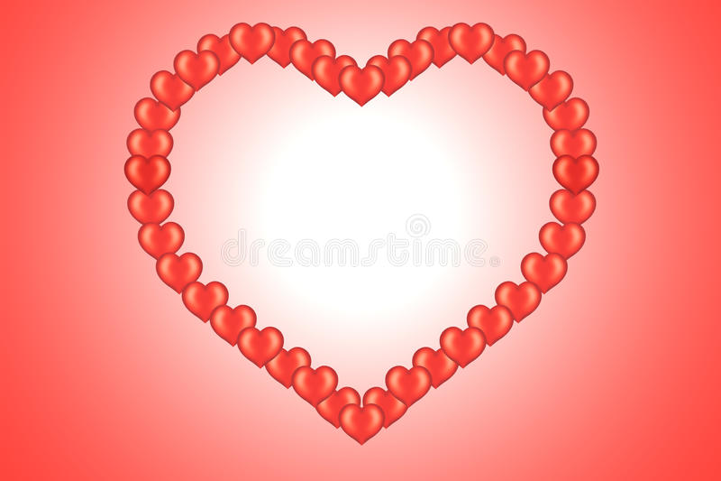 serca karciany valentine s ilustracja wektor